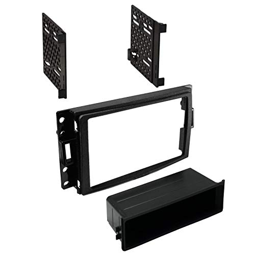 Carxtc Stereo Install Dash Single or Double Din Radio Fits Hummer H3 2006-2010