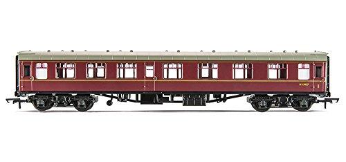 Hornby Calibre 00 270 mm BR MK1 Corridor Composite BR Coach modèle Bordeaux