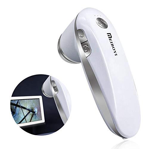 Analizador De Piel, Microscopio Digital Inteligente Profesional 200X Detector De Cuero Cabelludo...