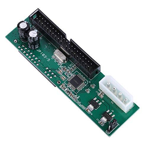 Mavis Laven Adaptador de Interfaz Pata IDE a SATA, Paralelo ATA Pata IDE a Sata Serial ATA Convertidor de Disco Duro Plug and Play para PC para Mac