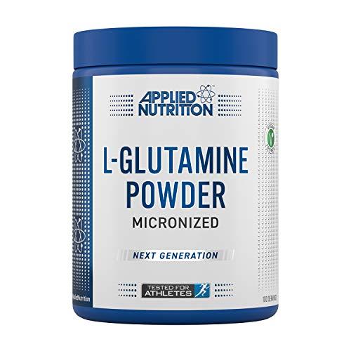 Applied Nutrition L Glutamine Micronized Powder, Optimum Muscle Strength &...