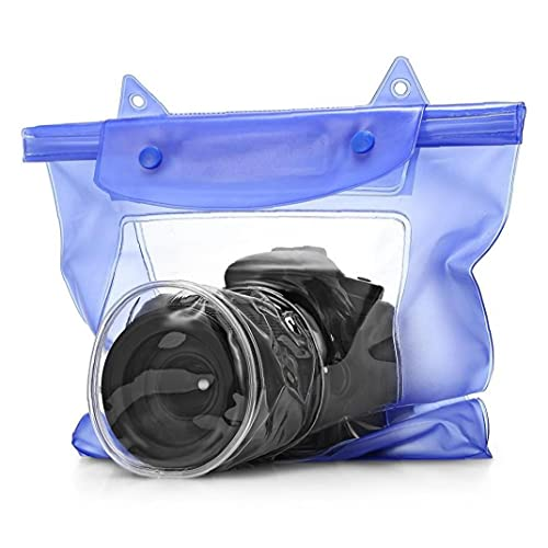 Froiny Caja De Cámara Transparente Impermeable para DSLR Bolsa De Protección De Cámara Digital De Cámara Digital PVC