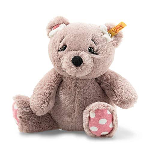 Steiff 113666 Teddybär, rosebraun, 19 cm