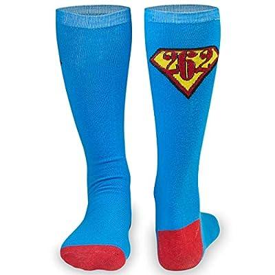Knee High Half Cushioned Athletic Running Sock | Various Designs