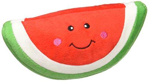 ZippyPaws - NomNomz Plush Squeaker Dog Toy for The Foodie Pup - Watermelon