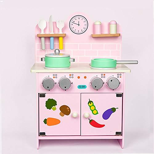 JenLn koken en leren slimme keuken puzzel peuter keuken Playset jongens meisjes doen alsof speelgoed koken rol spel cadeau educatieve kinderen doen alsof keuken speelgoed voor kinderdagverblijf en kleuterschool
