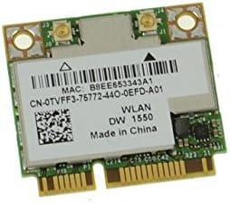TVFF3 - Dell Wireless 1550 Choice DW1550 WiFi Max 67% OFF 802.11 a g AC n + b Bluet
