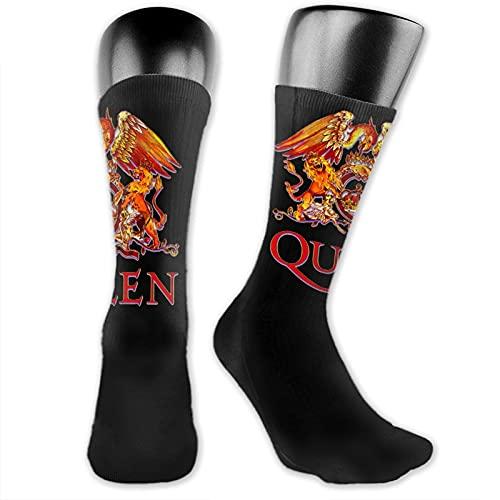 Freddie Mercury - Calcetines unisex de lujo, transpirables, de longitud media, no son fáciles de deslizar