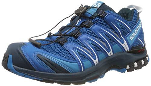 Salomon XA Pro 3D, Zapatillas de trail running para Hombre, Azul (Sky Diver/Navy Blazer/Hawaiian Ocean), 46 EU