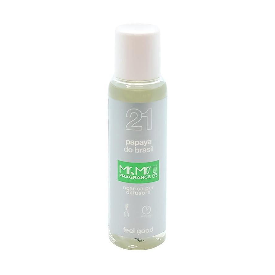 カウンターパート人に関する限りホイットニーMr&Mrs(ミスターアンドミセス)easy fragrance 21 パパイヤ リフィル 100ml