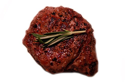 Organic 100% Grass-Fed Beef Filet Mignon Steak –Case of 4 [6 oz.] Organic Grass-Fed Steaks –Good Life Premium Meats