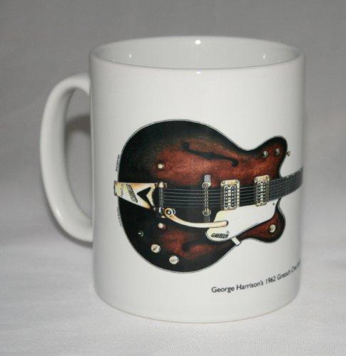 Taza de guitarra. 1962 Gretsch Chet Atkins Country Gentleman de George Harrison.