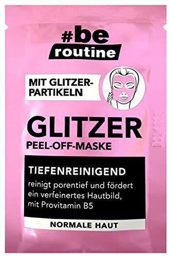 Glitter peel-off-masker voordeelverpakking (12x10 ml)