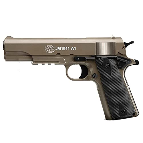 Colt 1911 Manueller Zylinderkopf, Metall, Dark Earth 13bbb\'S E=0,500 J. Max / C24