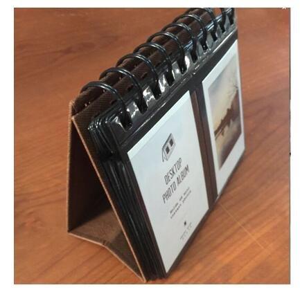 Jun cámara instantánea álbum de fotos soporte de escritorio calendario para Fujifilm Instax Polaroid foto 3, 68piezas)