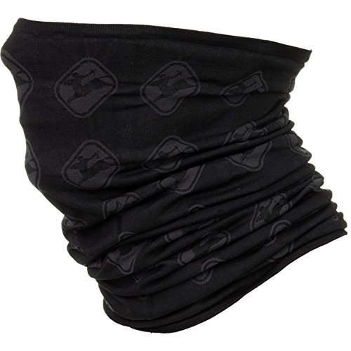 Giordana PolyPro Knitted Neck Gaiter Grey/Black, One Size