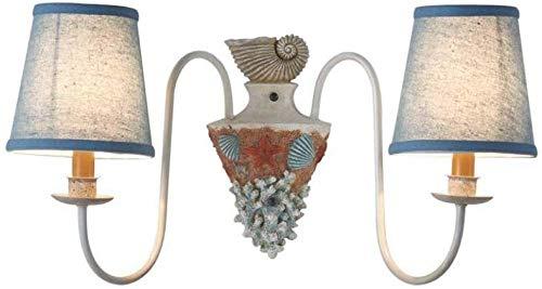 Wandlampen, wandlampen, wandlampen, wandlampen, schelp-wandlampen, middenmeer, eenvoudig, woonkamer, hal, slaapkamer, stof