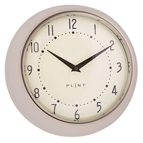 Plint Retro Wanduhr Uhr Küchenuhr Dänisches Design Wall Clock Cream