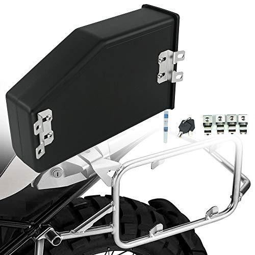 Motocicleta Accesorios AJUSTE PARA BMW R1200GS ADV R1200 R 1200 GS R1250GS LC 2013-2020 2021 Caja de herramientas de plástico decorativo Caja de herramientas 5 litros Caja de herramientas Soporte late