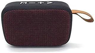 Multi Function Mobile Phone Wireless Mini Portable Speaker Dark Red