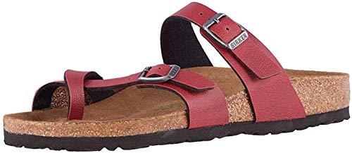 Birkenstock Mayari Vegan Women's Sandal 40 M EU Bordeaux