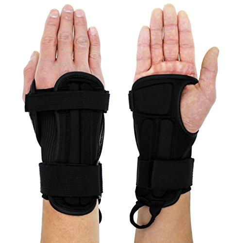 La vogue Sport Handgelenk Unterstützung Handgelenkbandage Ski Snowboard Handschuh (Handbreite 8,5-10cm)