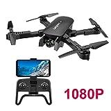 Adsvtech WiFi FPV RC Drone con cámara Doble 1080 HD para...