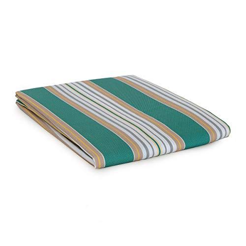 Tenda da Sole con Anelli per Esterno Art. Stromboli - Dimensioni Varie U221 145x290 cm Verde