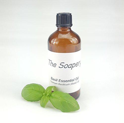 Basil etherische olie 100ml - 100% zuiver en natuurlijk