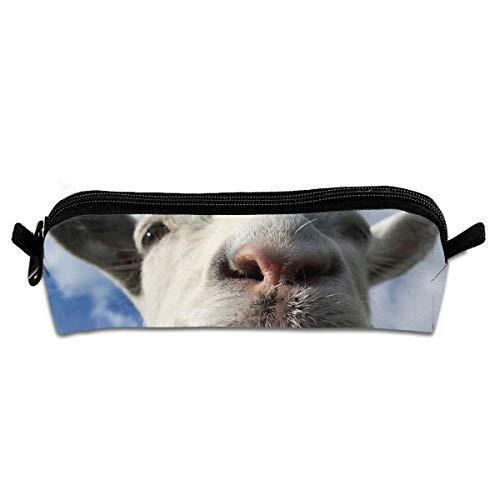 Estuche con cremallera para monopatín, diseño de toro francés, color Divertida cabra Bule Sky talla única