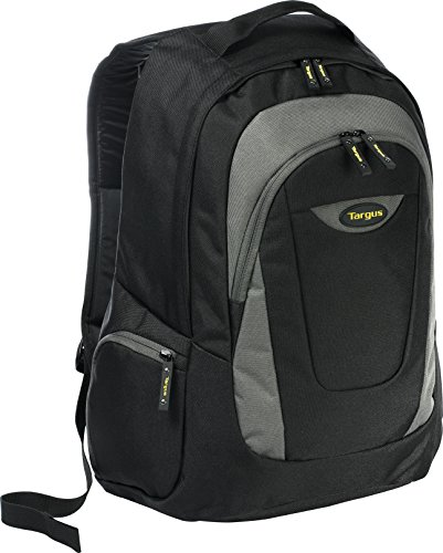 Targus Trek Backpack for 16-Inch Laptops, Black with Gray Accents (TSB193US)