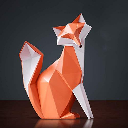 WQQLQX Statue Tierwandskulptur, 3D Home Decor Tisch dekorative Teile Säugetier Film Tisch Statue Statue Schlafzimmerdekoration Tierwandskulptur Skulpturen