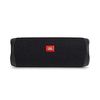 JBL JBLFLIP5BLKAM FLIP 5 Waterproof Portable Bluetooth Speaker,Black