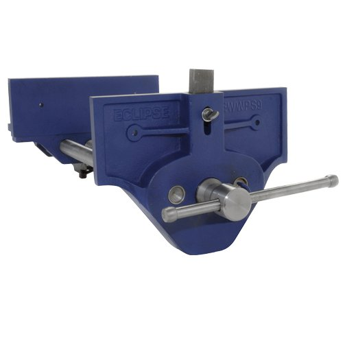 Eclipse Professional Tools EWWPS9 Schraubstock für Holzarbeiten, Blau, 22,9 cm