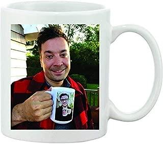 Jimmy Fallon & Justin Timberlake Funny Ceramic Coffee Mug. Ultimate Inception Coffee Mug. Great Coffee Humor and Gift Idea for Coffee Lovers