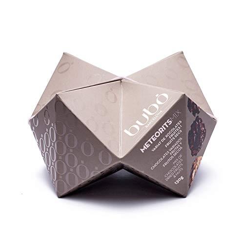 ブボ・バルセロナ チョコロック メテオリットミックス(3種)(ホワイト・ダーク・ミルクチョコレート/ナッツ・オレンジピール)