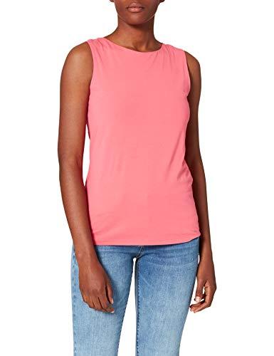 More & More Damen Top Unterhemd, pink_0831, 36
