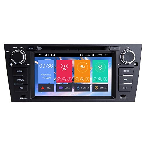 ZLTOOPAI 7 Zoll Android 10.0 Autoradio für BMW E90 E91 E92 E93 Autoradio GPS Navigation Auto GPS Media Player Unterstützung Bildschirm Spiegel Link WiFi OBD2 SWC