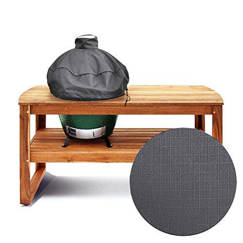 """29"""" Kamado Dome Grill Cover for Large Big Green Egg or Kamado Joe Classic in Built-in Or Island,L BGE Accessories Waterproof Outdoor Grill Cover"""