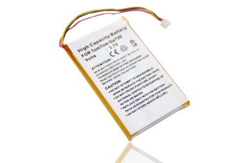 vhbw batería Compatible con Tomtom GO 520, 620, 720, 720T, 920, 920T...