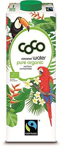 Dr. Antonio Martins Bio Dr. Antonio Martins Coco Water Fairtrade Pur 1000ml DE/GB/FR/NL/IT/ES/PT/SE/NO/DK/FI (6 x 1000 ml)