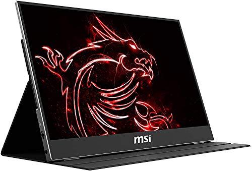 "MSI Optix MAG161V - Monitor portátil de 16"" FullHD 60Hz (1920 x 1080, pantalla plana, panel IPS, ratio 16:9, brillo 180 nits, Anti-glare) negro"