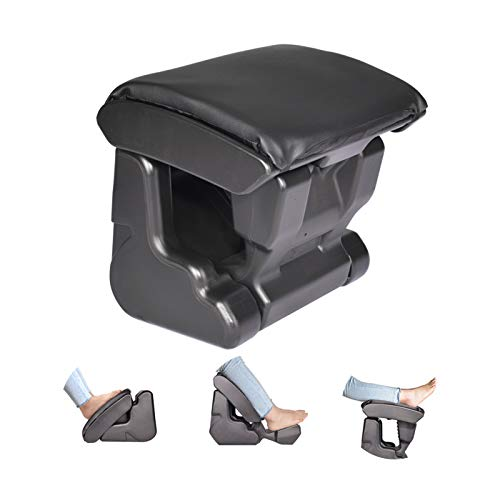 Ergonomic Footrest Foldable Ottomans Angle Height Adjustable Stool with 3 Functional Modes & Massage,Foot Rest
