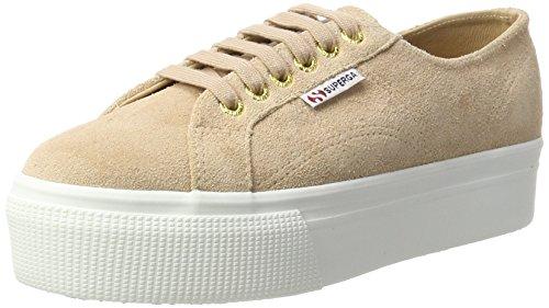 adidas Damen 2790 Suew Sneaker, Beige (beige/weiß beige/weiß), 41 EU