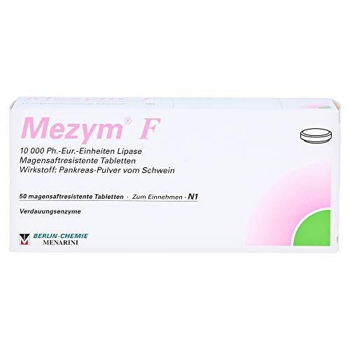 MEZYM F magensaftresistente Tabletten 50 St