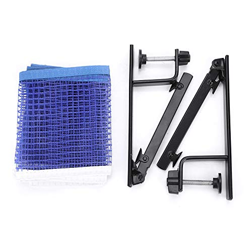 Buy Bargain Ruiqas Table Tennis Net Portable Ping Pong Net with Metal Clamp Posts Ping Pong Set Accessory Indoor Outdoor