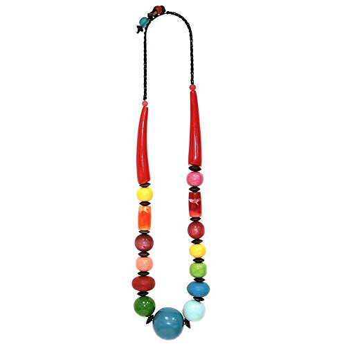 JOE COOL Necklace Miro Bead 81cm Made with Resin