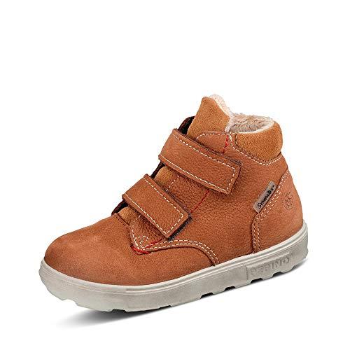 RICOSTA Jungen Boots Alex von Pepino, Weite: Weit (WMS),Sympatex,terracare,Outdoor-Kinderschuhe,wasserdicht,Kids,Curry (262),26 EU / 8.5 Child UK