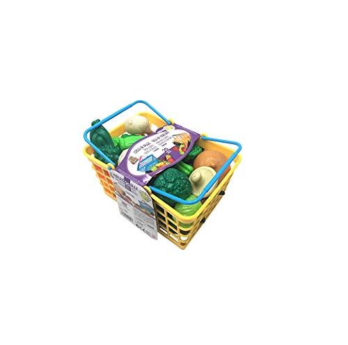 Tachan, Cesta de vegetales con 20 piezas, amarillo (7288086)
