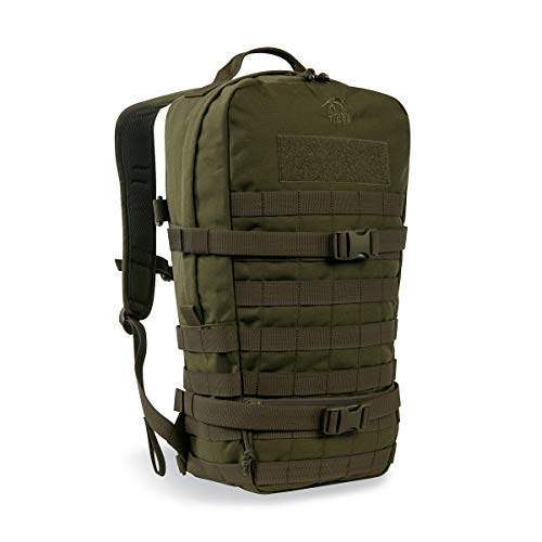 Tasmanian Tiger TT Essential Pack L MKII Molle Kompatibler 15L Daypack Outdoor Rucksack (Oliv)